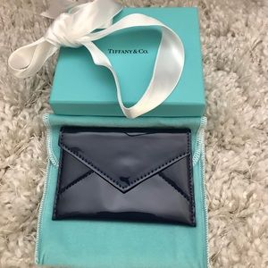 New Tiffany & Co leather card case